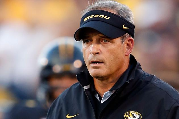 Pinkel Takes Blame for Missouri's Latest SEC Loss