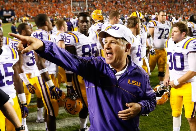 LSU Football: If Auburn Was a Problem, How Will Tigers Handle Alabama?