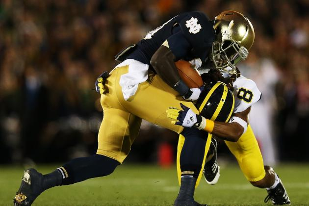 Cierre Wood: Notre Dame Needs to Use Big-Play Running Back More Often