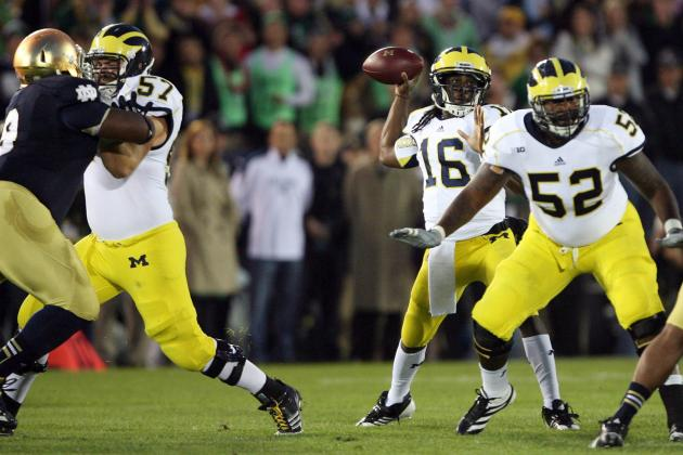 Michigan Football: Defense Only Bright Spot in Embarrassing Loss to Irish