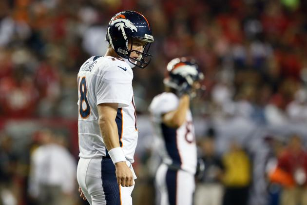 Peyton Manning: Projecting Denver Broncos QB's Fantasy Numbers vs. Texans