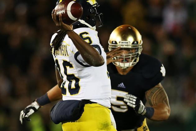 Notre Dame Football: The Irish Win an Ugly One Against Michigan
