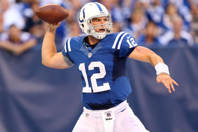 Andrew Luck: Predicting Colts Rookie Sensation's Fantasy Numbers vs. Jaguars