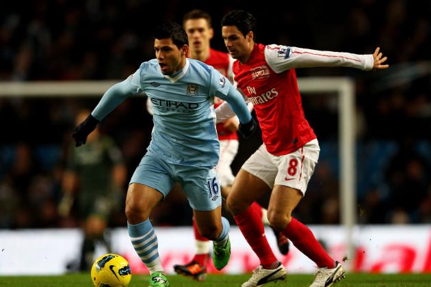 Manchester City vs. Arsenal Live Stream: Online Viewing Info for EPL Clash