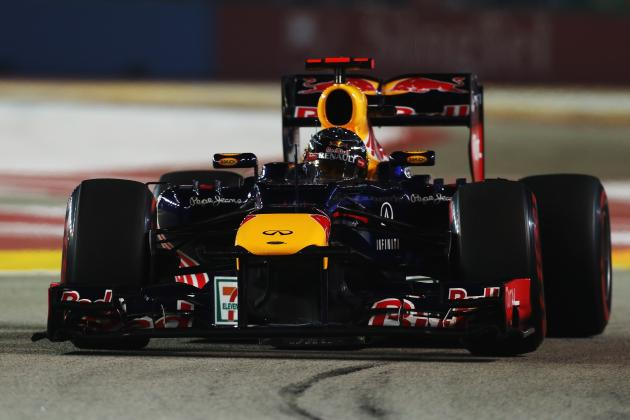 Sebastian Vettel Takes Victory at a Superb 2012 Singapore Grand Prix