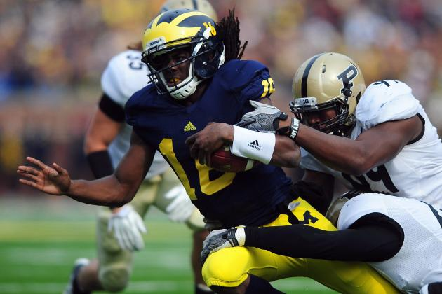 Michigan Football: Wolverines Fans Should Be Wary of Matchup vs. Purdue