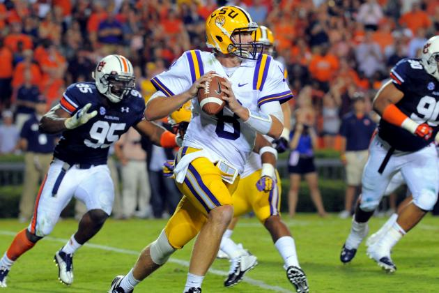 LSU's Zach Mettenberger Had the Zip When It Counted