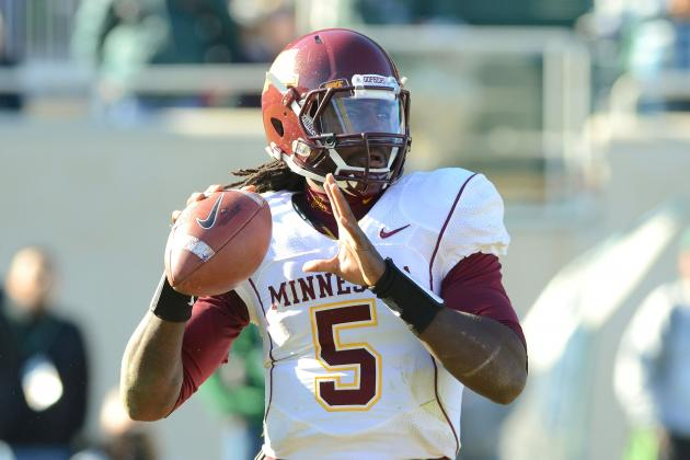 Gophers Announce QB MarQueis Gray Is Unlikely to Play in Big 10 Opener vs. Iowa