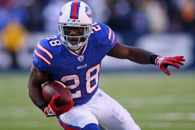 C.J. Spiller Injury: Updates on Buffalo Bills RB's Shoulder