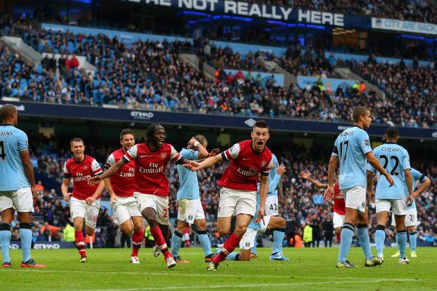 Arsenal vs. Manchester City: Assessing Gunners' Chances to Win EPL After Draw