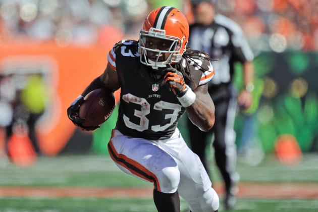Why Cleveland Browns RB Trent Richardson is Already a Top 5 NFL RB