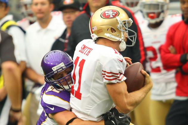 San Francisco 49ers: Elite No More as Niners Humbled by the Minnesota Vikings