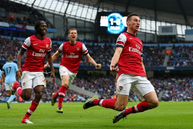 Arsenal Fight Back for Draw at Man City, Make Claim in Premier League Title Race