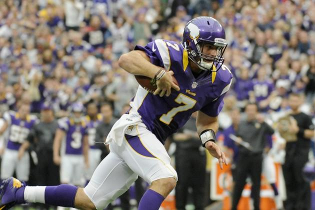 Christian Ponder: Emerging Vikings' QB Worth Picking Up in Fantasy Leagues