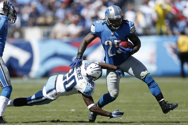 Fantasy Football: Detroit Lions' Mikel Leshoure Impressive vs. Titans