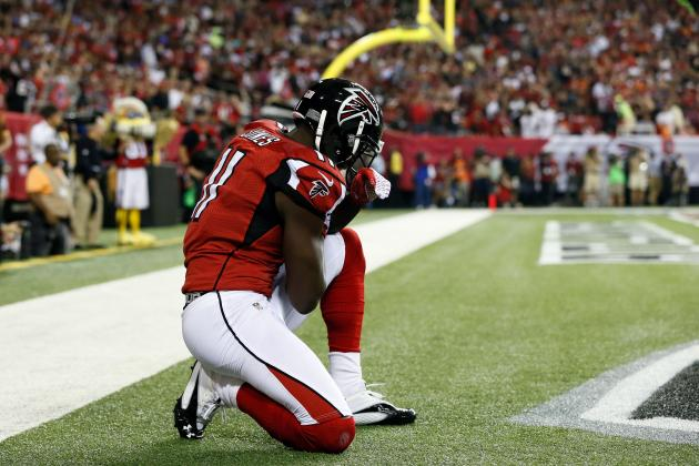 Julio Jones Injury: Updates on Falcons WR's Leg