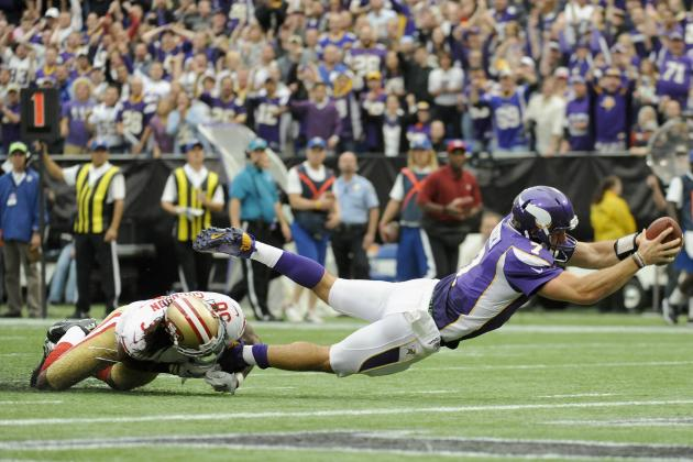 49ers Struggle, Fall Against Vikings in Shocker as Ponder Picks Apart Niners D