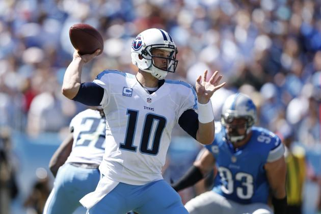 Fantasy Football: Tennessee Titans' Jake Locker Shines Against Detroit Lions