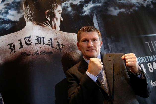 Ricky Hatton to Fight Michael Katsidis in Worthy but Risky Comeback Fight