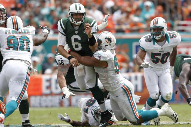 Jets vs Dolphins: Why Mark Sanchez Isn't the Answer at QB