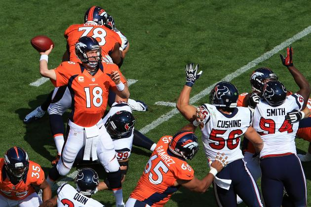 Houston Texans vs. Denver Broncos: Week 3 Live Score, Video and Analysis