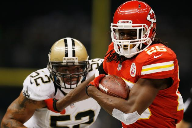 Jamaal Charles: Prolific Performance Was a Product of Pitiful Saints Defense