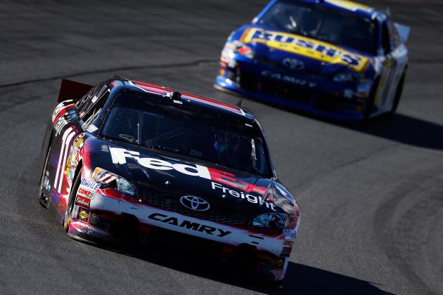 NASCAR Chase 2012: Denny Hamlin and Drivers in Great Shape After Sylvania 300