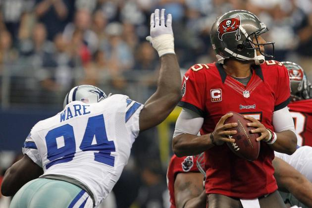 Buccaneers at Cowboys: Tampa Bay Sputters Offensively, Falls to 1-2
