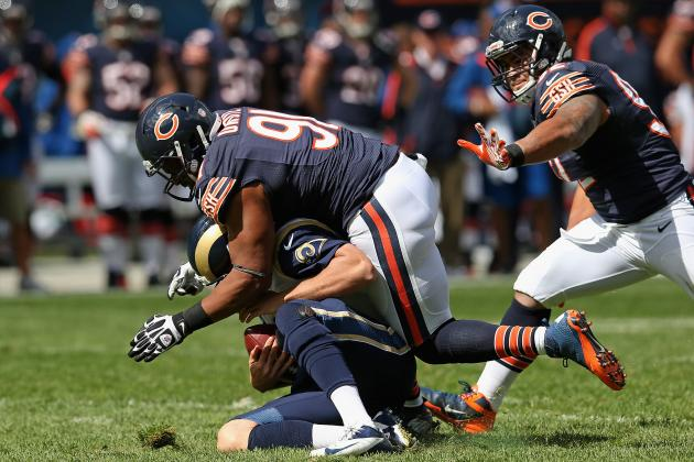 Rams vs. Bears: The Rams' Excuse for an OL Is the Difference on the Road
