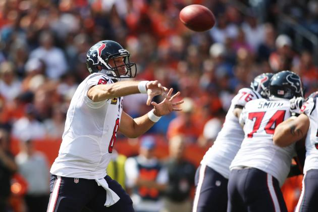 Texans vs. Broncos: Houston Dominates Denver, Then Hangs on for Dear Life