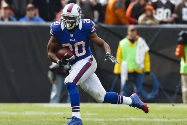Tashard Choice: Bills RB Ideal Short-Term Option for CJ Spiller's Fantasy Owners
