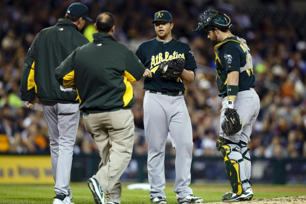 Analyzing the Impact of Brett Anderson's Injury on the Oakland A's Playoff Run