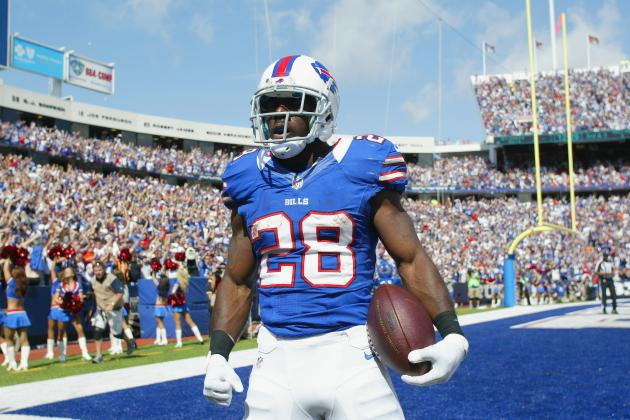 C.J. Spiller: Fantasy Owners Need Not Worry over Bills RB's Shoulder Injury