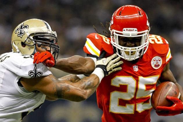 Chiefs vs. Saints: Jamaal Charles Saves Kansas City's Season in 27-24 Win
