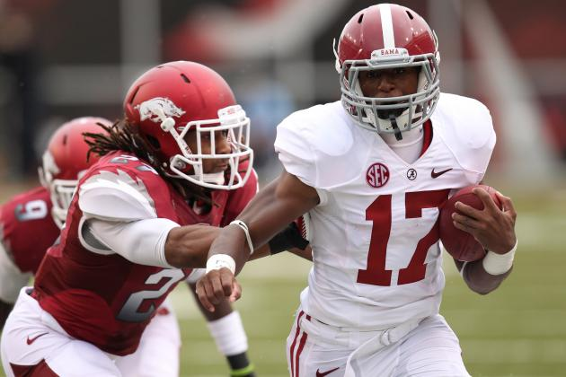 Alabama Football: Backup Running Back Kenyan Drake Making the Most of His Time