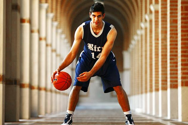 Pac-12 Basketball: How Will Rice Transfer Arsalan Kazemi Fare in the Pac-12?