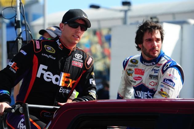 NASCAR Update: Signs Point to the Chase Coming Down to Hamlin vs. Johnson