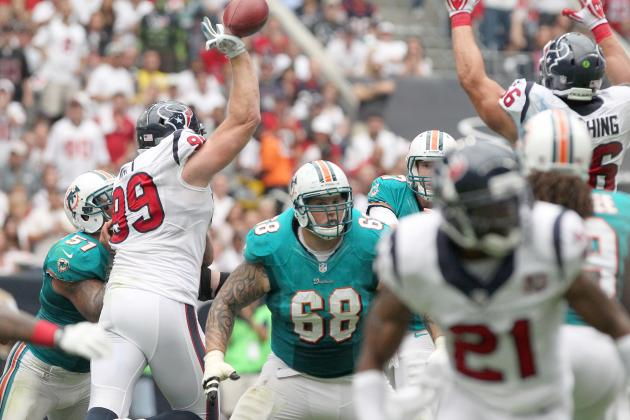 J.J. Watt of the Houston Texans Is the Best Defensive Player in the NFL