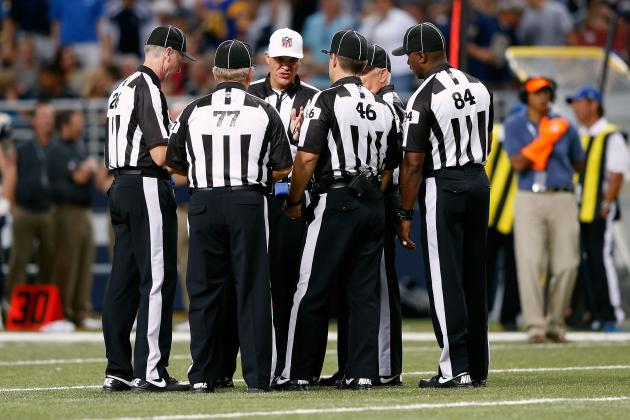 NFL Replacement Officials: Criticizing Referees Doesn't Change Bigger Problems