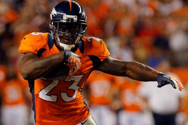 What Willis McGahee Injury Means for Fantasy Football Owners, Denver Broncos