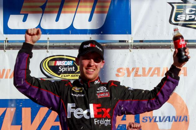 CUP: Hamlin 'Calls' His Win. Maybe.