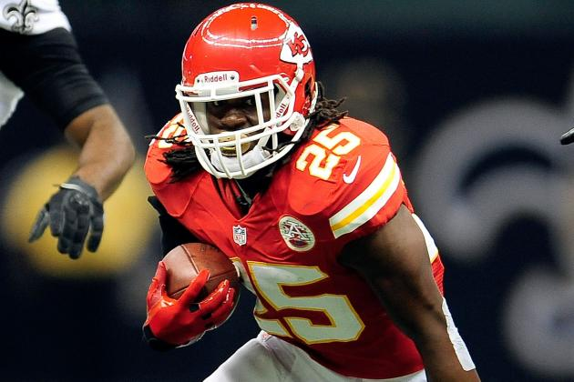 Jamaal Charles: Fantasy Owners Should Trade Chiefs RB While His Value Is High