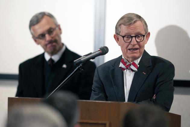 Ohio State: What's $530 for Shower Curtain When You Spend $64K on Bow Ties?