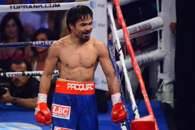Manny Pacquiao: Fans Should Cheer Pac-Man's Desire to Fight Floyd Mayweather Jr
