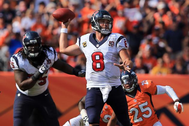 Schaub Excelled with Play-Action in Denver
