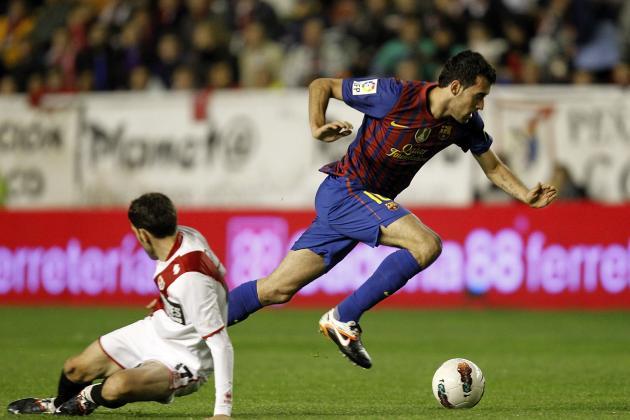 Rayo Vallecano De Madrid: La Liga BBVA Team of the Week