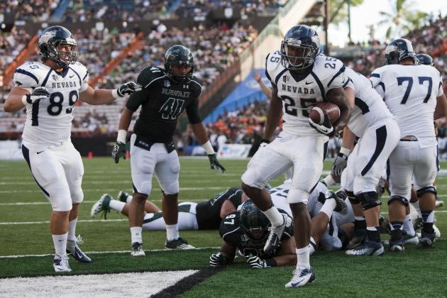 Hawaii vs. Nevada: Warriors Dismantled by Wolf Pack, 69-24