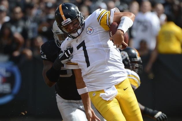Roethlisberger Plays Good Game Statistically, Teammates Fail to Measure Up