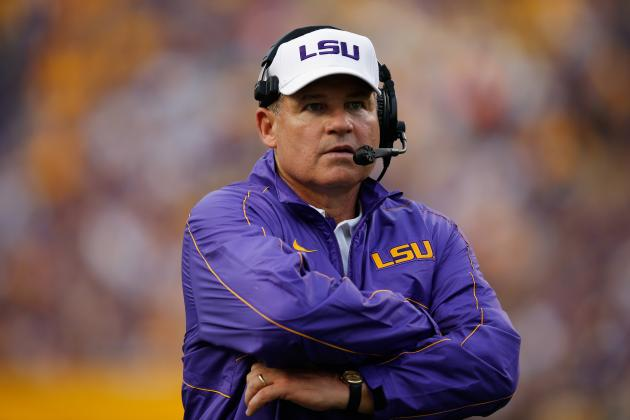 Florida Gators Football: John Chavis' Defense Saving Day at LSU for Now
