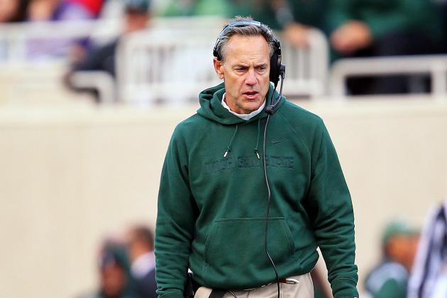Watch: Agitated Mark Dantonio Has Little Time for Reporters After Game